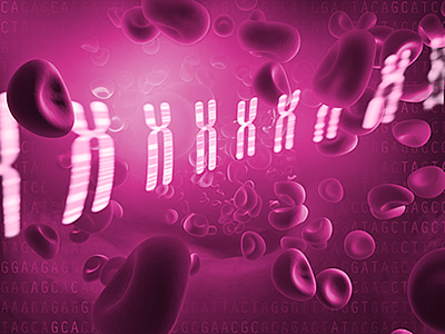 Blood cells and genomic data
