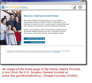 Family History Initiative Home Page