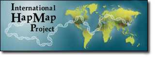 International HapMap Project Logo