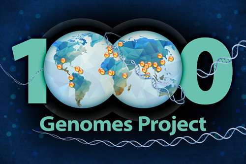 1000 genomes project logo
