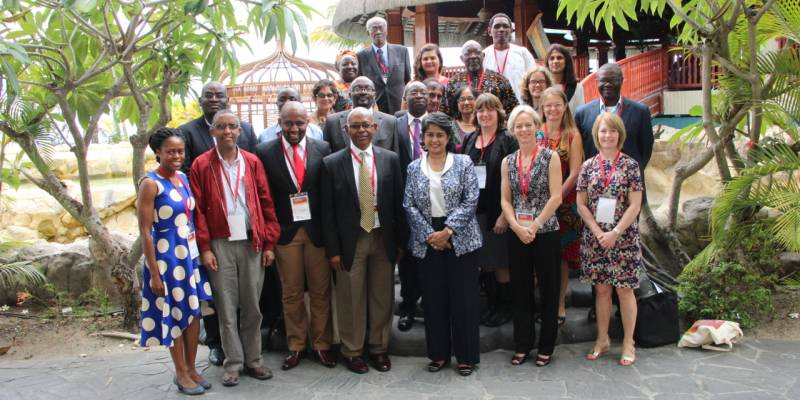 African scientists and collaborators gathered in Pointe aux Piments in Mauritius for the 9th Human Health and Heredity in Africa (H3Africa) Consortium Meeting