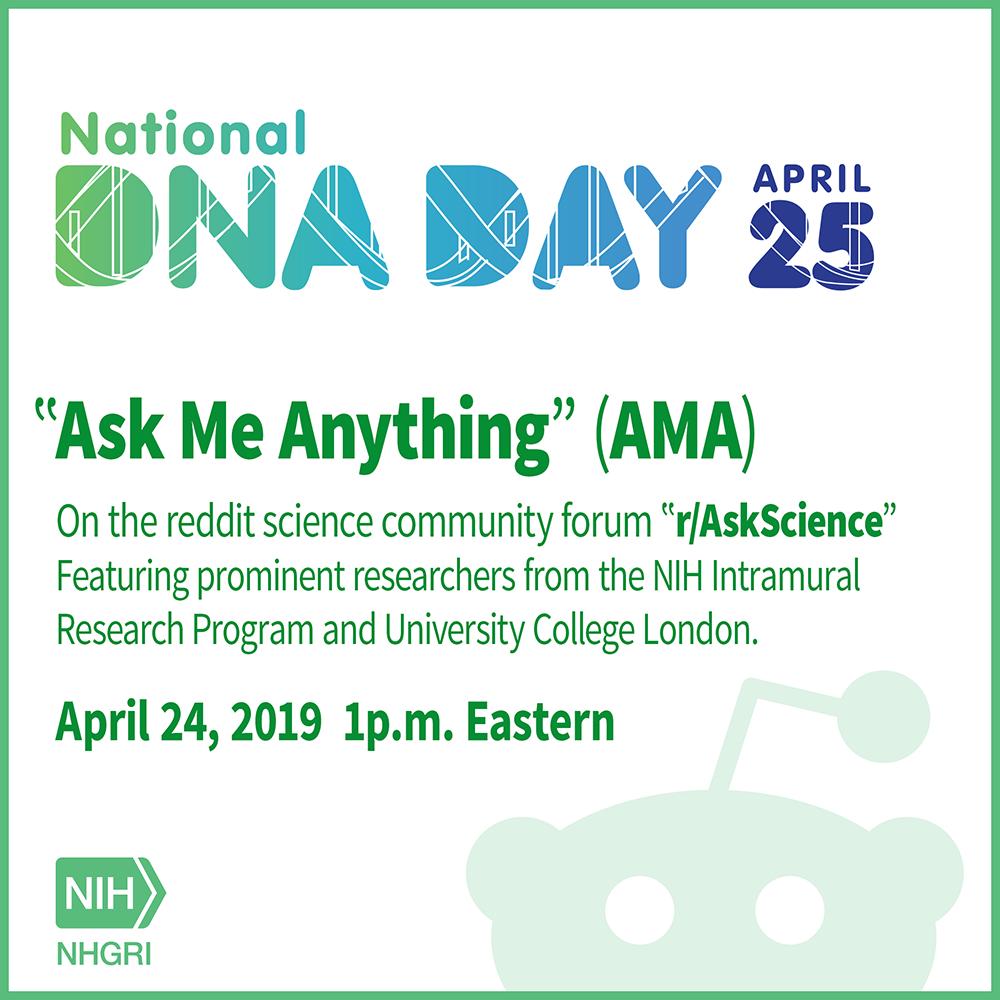 Celebrate National DNA Day   NHGRI