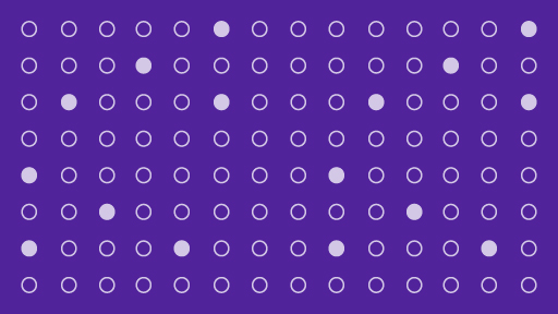 pattern of dots