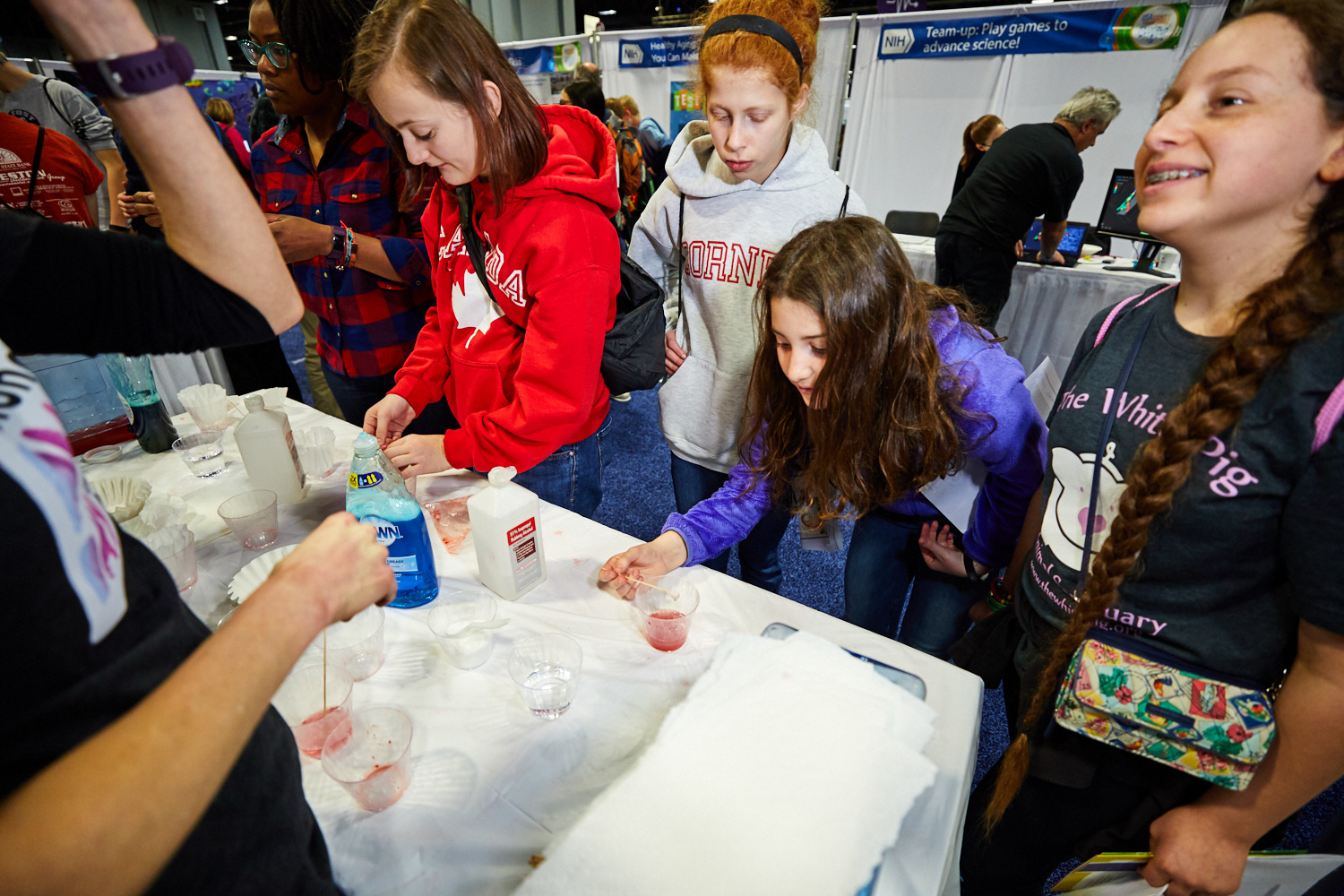 Children participating in the USA Science and Engineering Festival