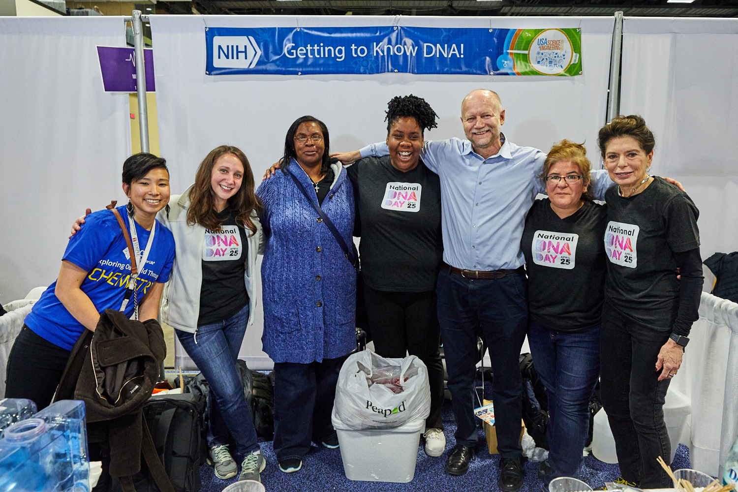 NHGRI Volunteers at the USA Science and Engineering Festival