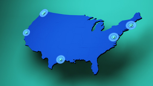 Map of Mendelian Genomics Research Consortium locations
