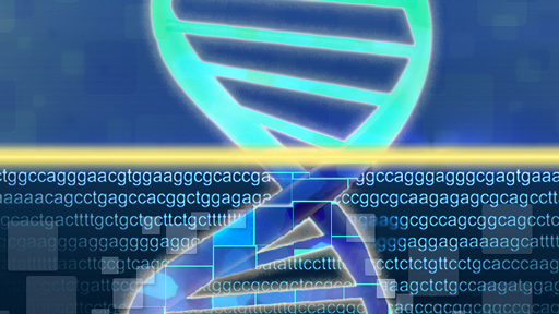 DNA Sequencing and double helix