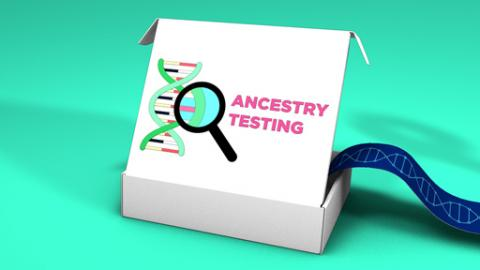 Direct-to-consumer genetic ancestry test kit